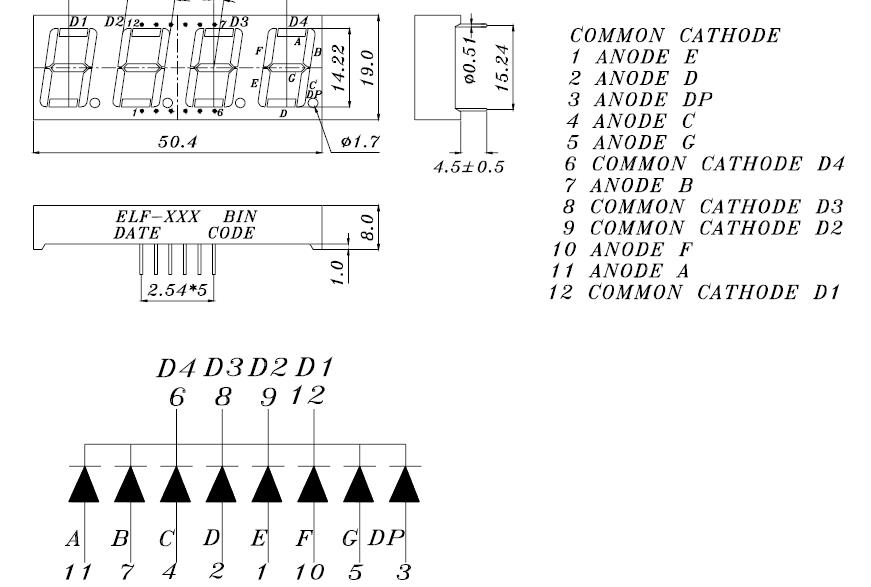 4 digit bcd datasheet