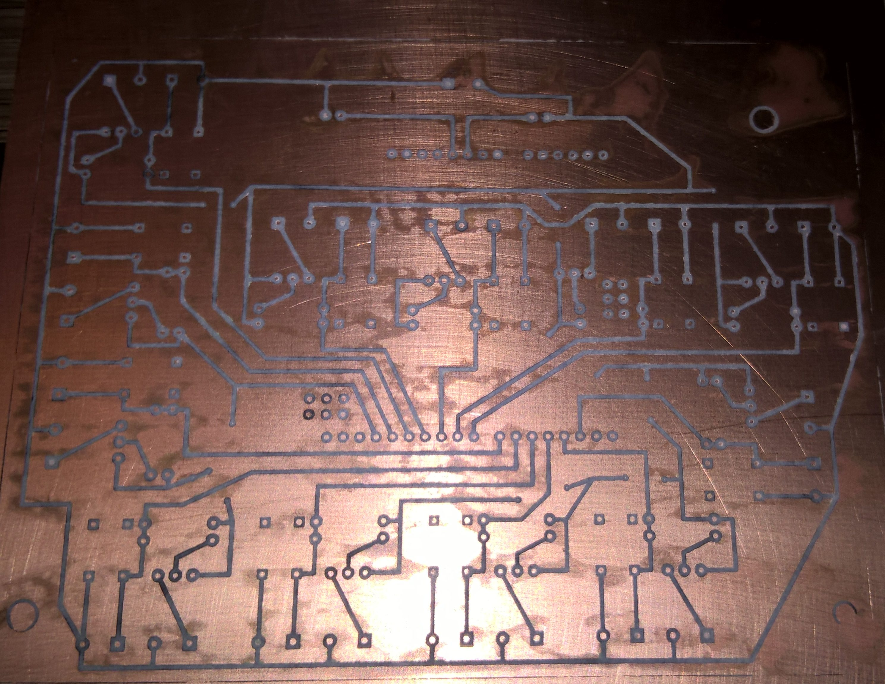 PCB before corosion