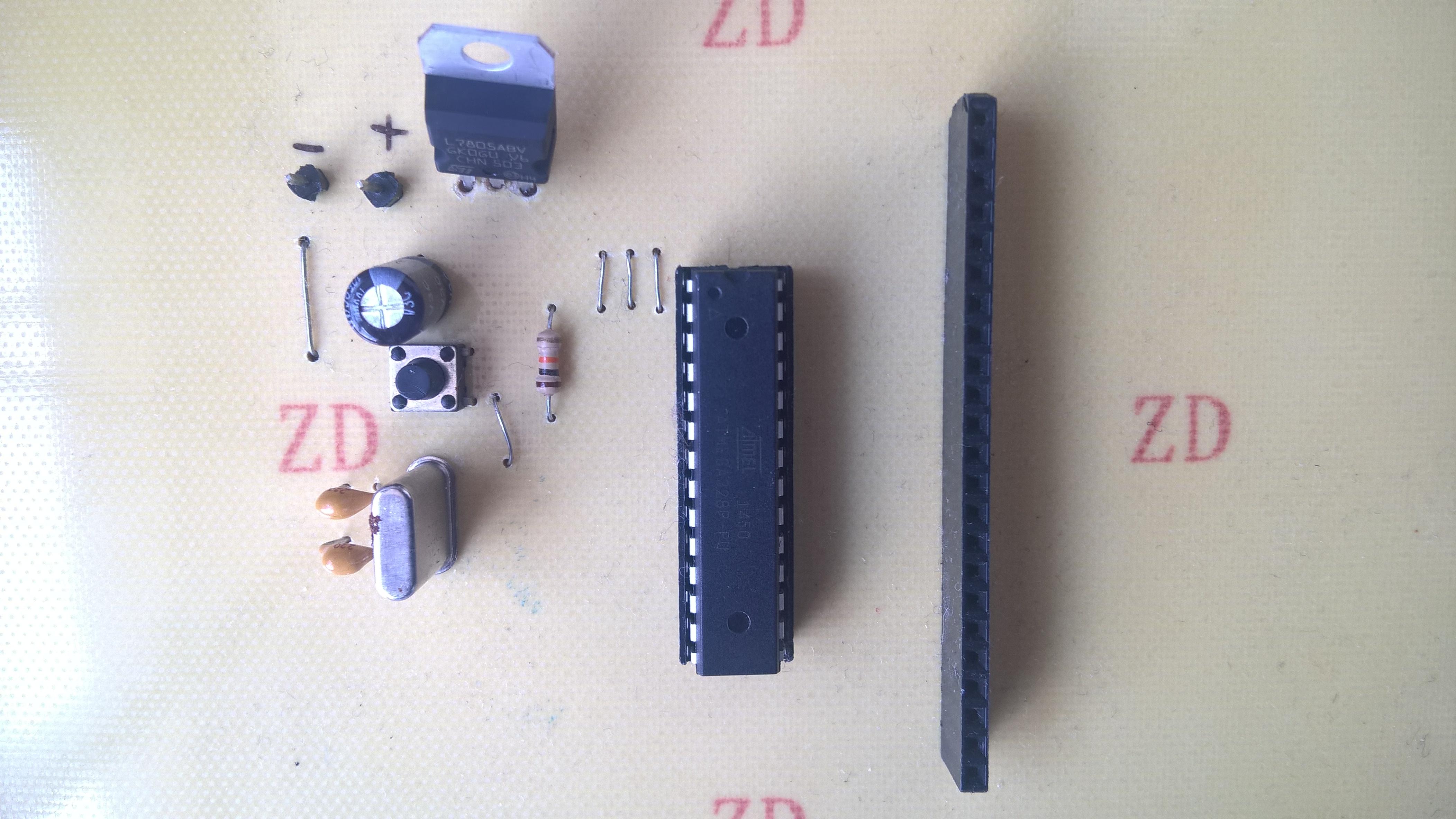 Atmega 328 PCB