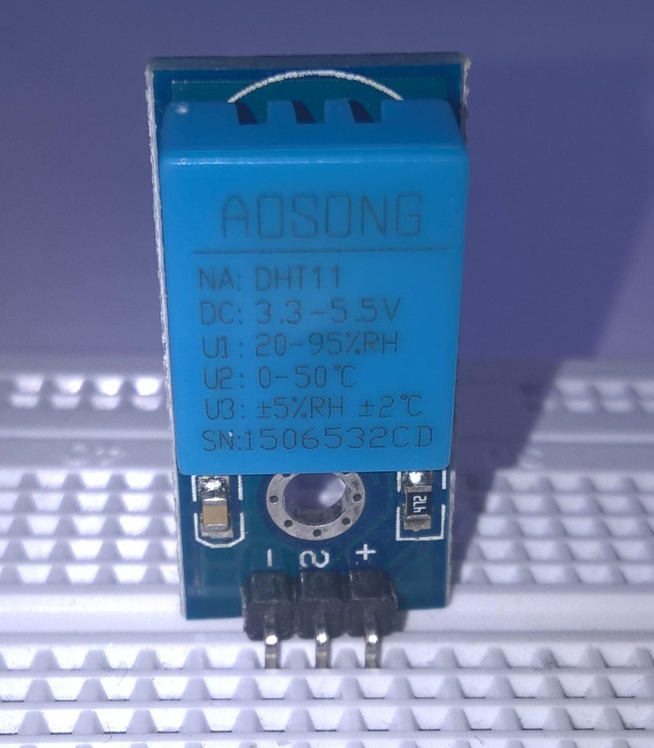 DHT 11 sensor