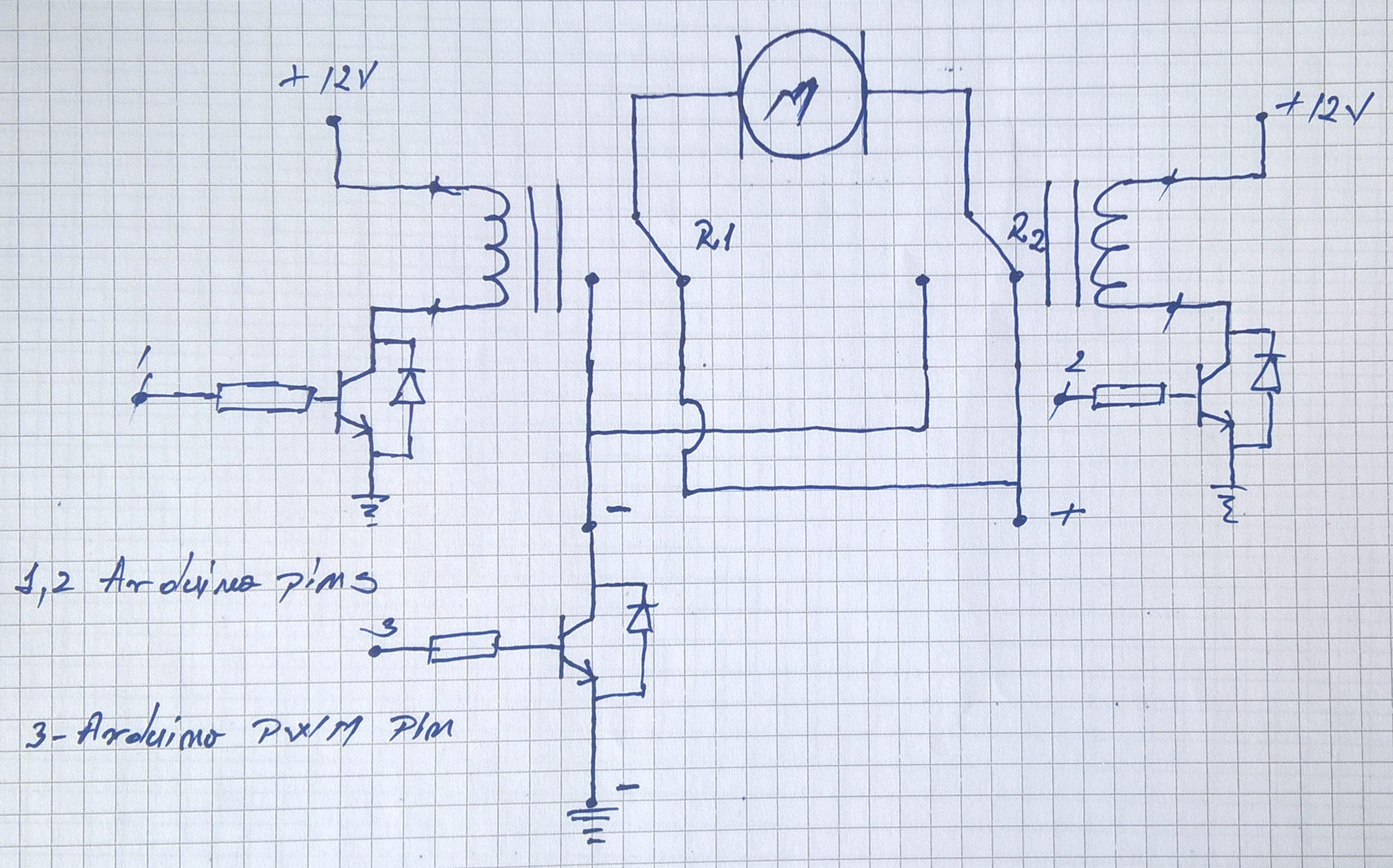 pwm and transistors