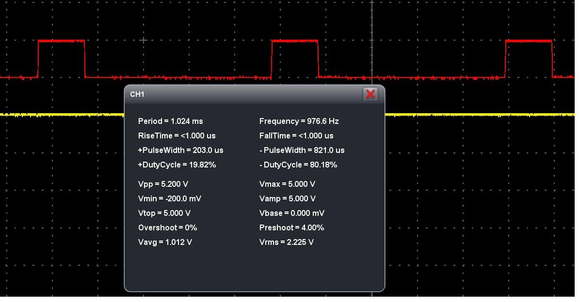 fast pwm noninverting mode